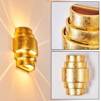 Handan Wandleuchte Gold, 1-flammig