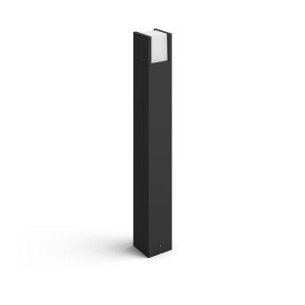 Philips Hue White Fuzo Wegeleuchte LED Schwarz, 1-flammig