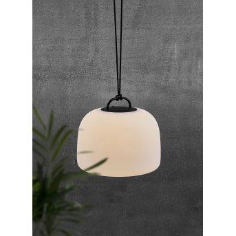 Nordlux KETTLE Außenhängeleuchte LED Weiß, 1-flammig