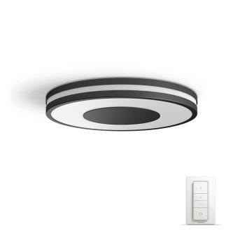 Philips Hue Ambiance White Being Deckenleuchte LED Schwarz, Weiß, 1-flammig, Fernbedienung