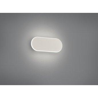 Trio Leuchten Carlo Wandleuchte LED Weiß, 1-flammig