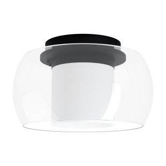 Eglo BRIAGLIA Deckenleuchte LED Schwarz, 1-flammig, Farbwechsler