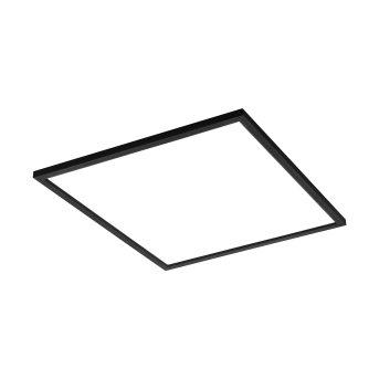 Eglo SALOBRENA Deckenleuchte LED Schwarz, 1-flammig, Farbwechsler