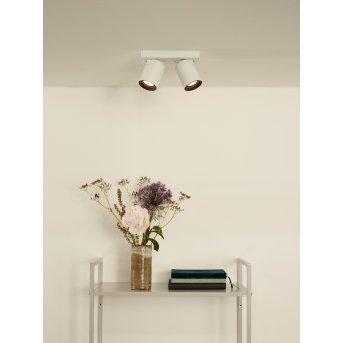 Lucide NIGEL Deckenstrahler LED Weiß, 2-flammig