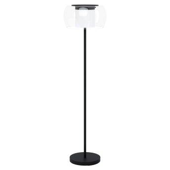 Eglo BRIAGLIA Stehleuchte LED Schwarz, 1-flammig, Farbwechsler