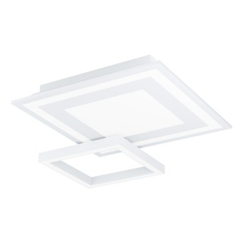 Eglo SAVATARILA Deckenleuchte LED Weiß, 1-flammig, Farbwechsler