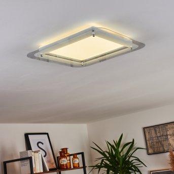 Ipres LED Panel Weiß, 1-flammig