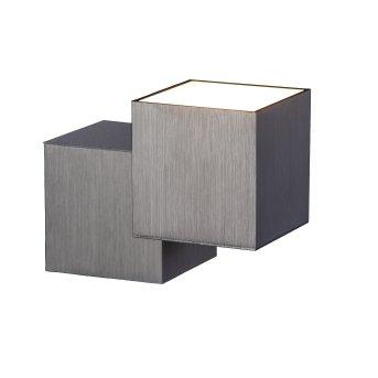 Grossmann ROCKS Wandleuchte LED Aluminium, 2-flammig