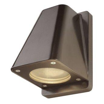 SLV WALLYX Außenwandleuchte Bronze, 1-flammig