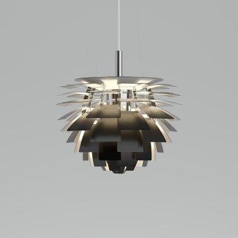 Louis Poulsen PH Artichoke Pendelleuchte LED Edelstahl, 1-flammig