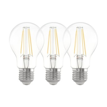 Eglo 3er Set LED E27 6,5 Watt 2700 Kelvin 810 Lumen