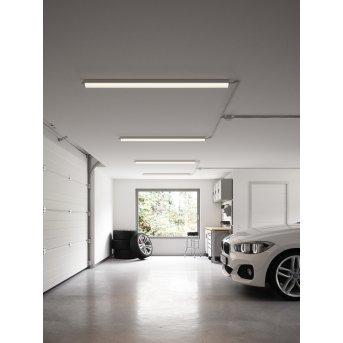 Nordlux Westport Außendeckenleuchte LED Grau, 1-flammig