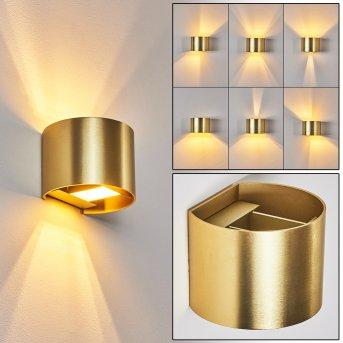Badajoz Wandleuchte LED Gold, 1-flammig