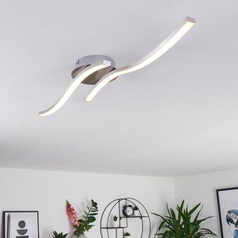 Grossarl Deckenleuchte LED Nickel-Matt, 2-flammig