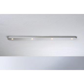 Bopp Leuchten CLOSE Deckenleuchte LED Silber, 4-flammig