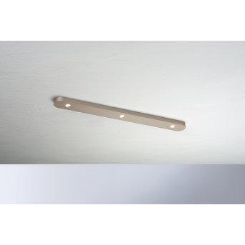 Bopp Leuchten CLOSE Deckenleuchte LED Braun, 3-flammig