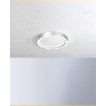 Bopp Leuchten AURA Deckenleuchte LED Silber, Weiß, 1-flammig