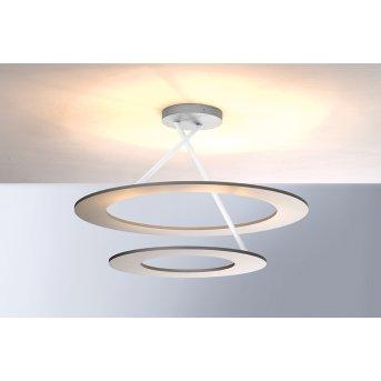 Bopp Leuchten STELLA Deckenleuchte LED Silber, Weiß, 9-flammig