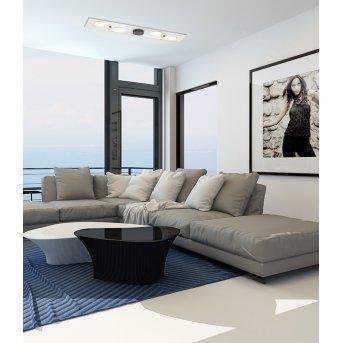 Bopp Leuchten PLANETS ONE Deckenleuchte LED Anthrazit, Weiß, 4-flammig