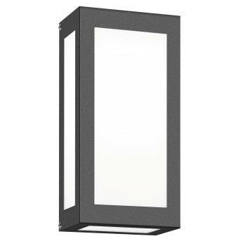 CMD AQUA RAIN Außenwandleuchte LED Anthrazit, 1-flammig, Bewegungsmelder