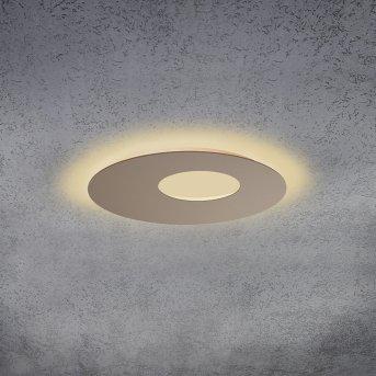 Escale BLADE OPEN Deckenleuchte LED Braun, 1-flammig