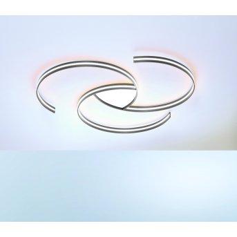 Escale CIRCLES Deckenleuchte LED Aluminium, Weiß, 1-flammig
