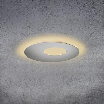 Escale BLADE OPEN Deckenleuchte LED Silber, 1-flammig