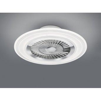 Reality Flaga Deckenventilator LED Weiß, 1-flammig, Fernbedienung