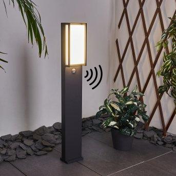Skove Wegeleuchte LED Anthrazit, 1-flammig, Bewegungsmelder