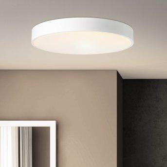 Brillliant Slimline Deckenleuchte LED Weiß, 1-flammig, Fernbedienung