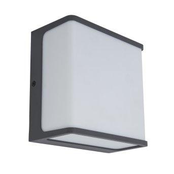 Lutec Doblo Außenwandleuchte LED Anthrazit, 1-flammig