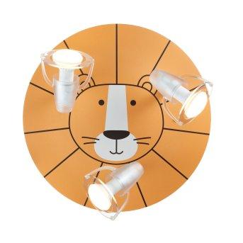 Waldi Löwe Deckenleuchte Gelb, 3-flammig