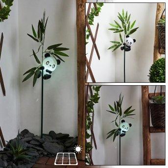 Beo Solarleuchte LED Schwarz, Grün, 1-flammig