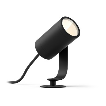 Philips Hue Lily Gartenspot Basis-Set LED Schwarz, 1-flammig, Farbwechsler