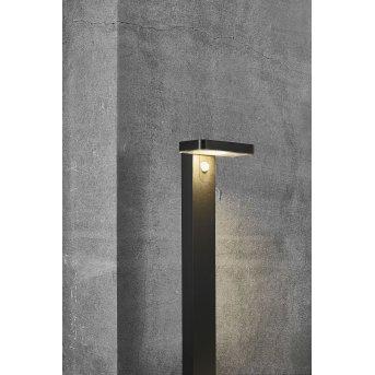 Nordlux RICA Solar-Wegeleuchte LED Schwarz, 1-flammig