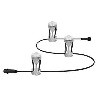 LEDVANCE GARDEN DOT Lichterkette Transparent, Klar, 1-flammig, Farbwechsler