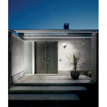 LEDVANCE SMART+ Außenwandleuchte Grau, 1-flammig, Bewegungsmelder