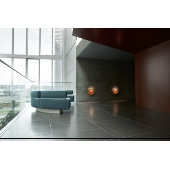 Louis Poulsen Flindt Außenwandleuchte LED Rostfarben, 1-flammig