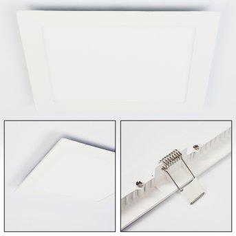 Finsrud Einbauleuchte LED Weiß, 1-flammig