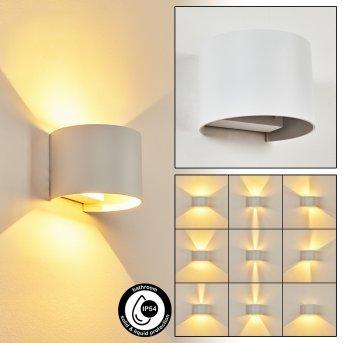 Strandaa Wandleuchte LED Weiß, 2-flammig