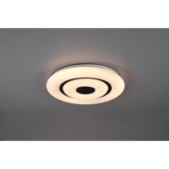 Reality Rana Deckenleuchte LED Schwarz, Weiß, 1-flammig, Fernbedienung, Farbwechsler