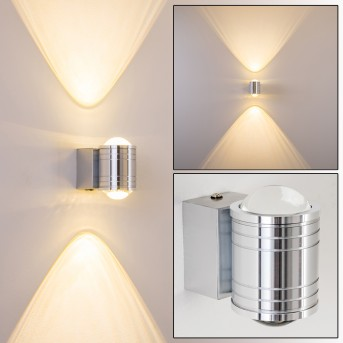 Florenz Badleuchte LED Aluminium, 2-flammig