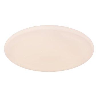 Globo Deckenleuchte RENA LED Weiß, 1-flammig, Fernbedienung, Farbwechsler