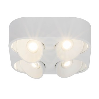 AEG Leca Deckenleuchte LED Weiß, 4-flammig