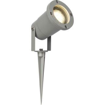 Brilliant Leuchten Janko Gartenstrahler LED Grau, 1-flammig