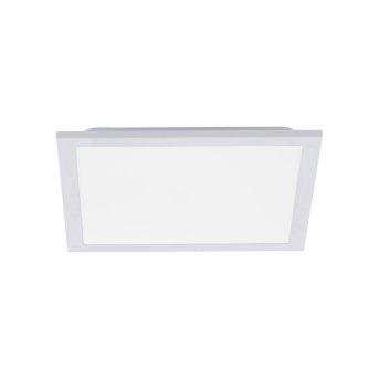 Leuchten Direkt FLEET Deckenpanel LED Weiß, 1-flammig, Bewegungsmelder