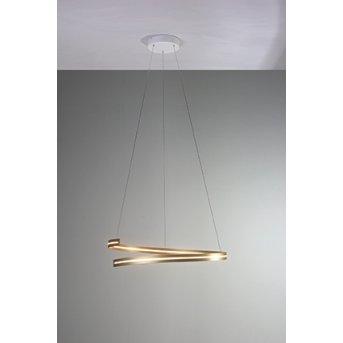 Bopp BREAK Pendelleuchte LED Gold, 1-flammig