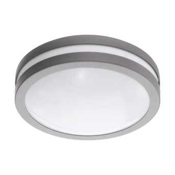 Eglo connect LOCANA Deckenleuchte LED Silber, 1-flammig