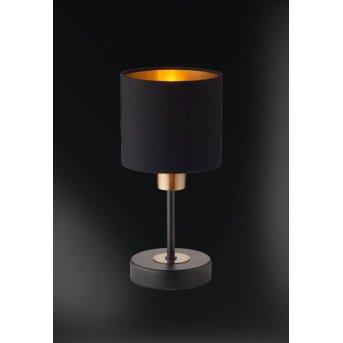 WOFI LOTTE Tischleuchte Schwarz, 1-flammig