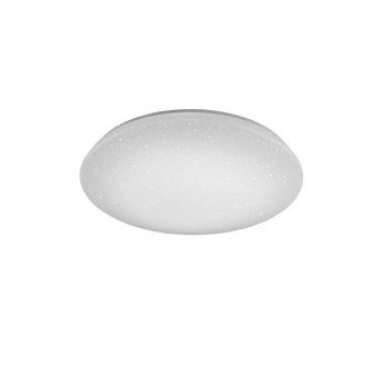 Trio Leuchten WiZ CHARLY Deckenleuchte LED Weiß, 1-flammig, Fernbedienung, Farbwechsler